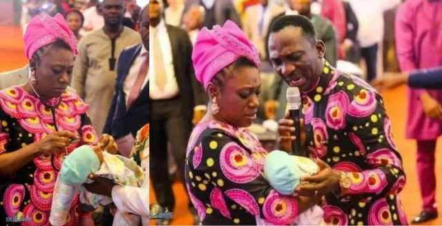 Pastor Paul Enenche resurrects dead baby with hole in the heart (photos)
