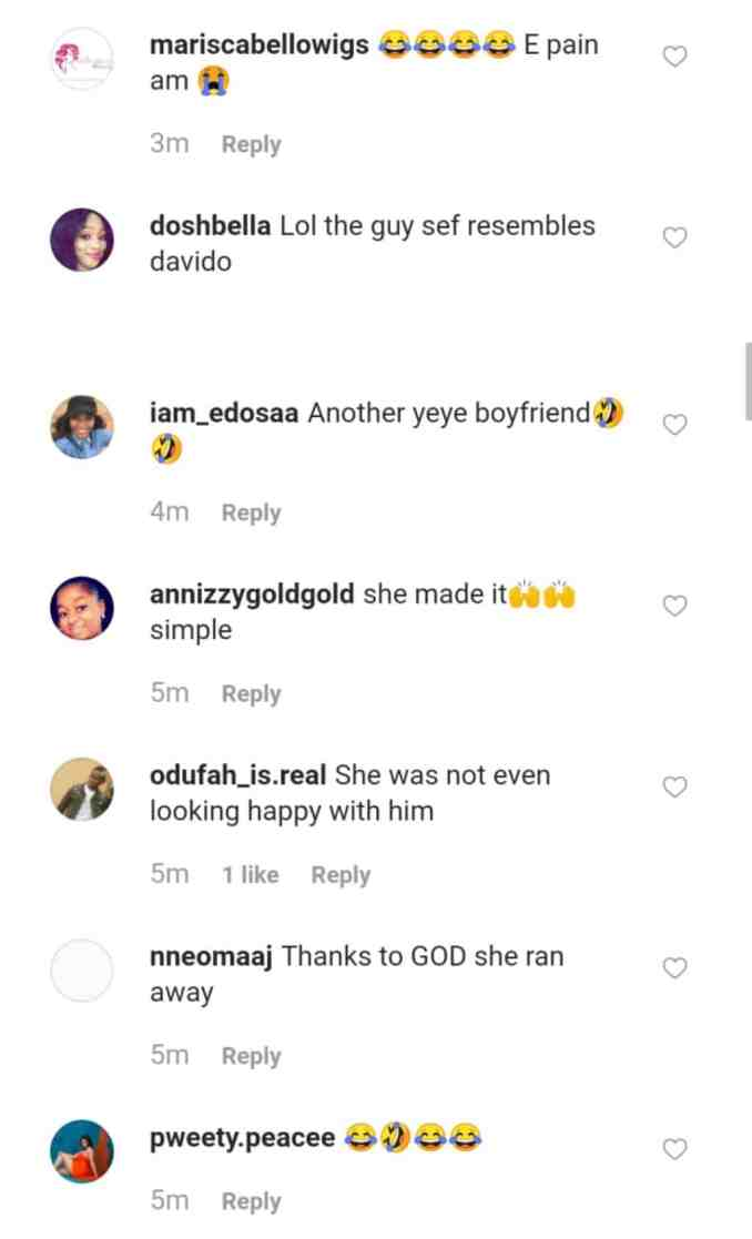 Throwback photo of Chioma and her alleged ex-boyfriend resurfaces 1