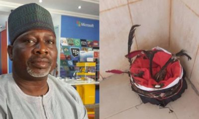 Impeached Deputy Governor of Kogi State asked to pick up his forgotten 'Juju' at the State House