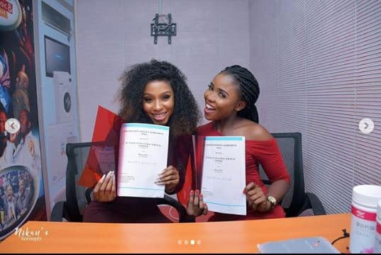 BBNaija winner Mercy bags another endorsement deal with Mapia Tea 3 - Video: Mercy bags another endorsement deal with Mapia Tea