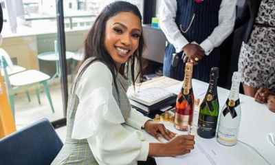 Fake Endorsement: Mercy Deletes Moet Hennessy Endorsement Photos From Her Page