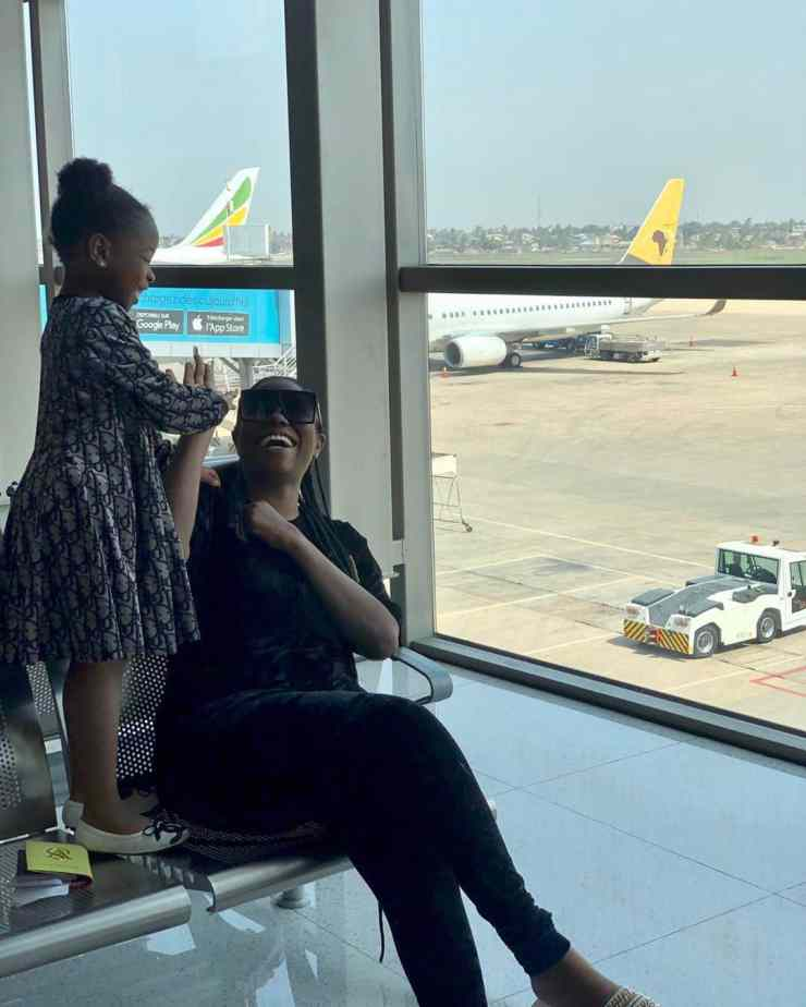 """""""We fly first or business class,"""" – Sophia Momodu reacts to Davido's """"economy class"""" claim 1"""