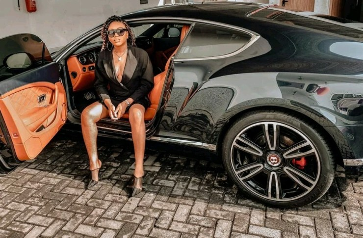 Valentine Gift: Stephanie Coker gets Bentley Continental GT Coupe(Photos) 2