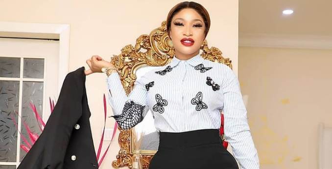 """""""Thanks to everyone who removed food from my table"""" - Tonto Dikeh writes"""