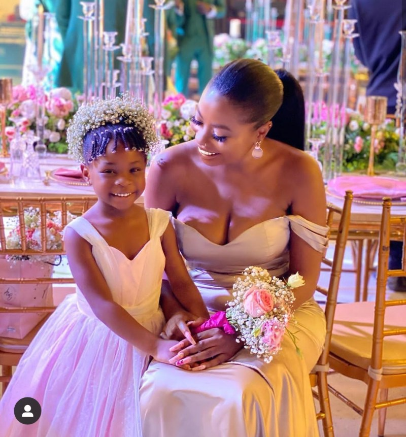 Watch Davido's Daughter, Imade Speaking French Fluently With Her Mom