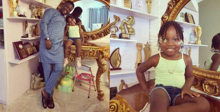 Seyi Law replies a fan who queried him for opening an IG page for his daughter