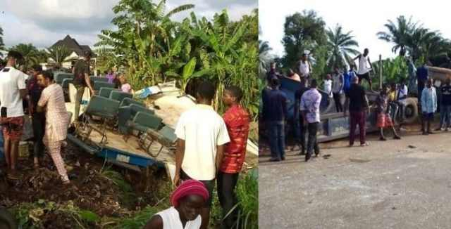 Four members of a family killed in a fatal accident in Anambra