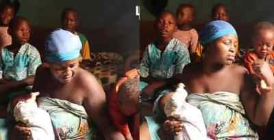 """""""I only wanted four children"""" – Mother of seven, living in one room laments"""