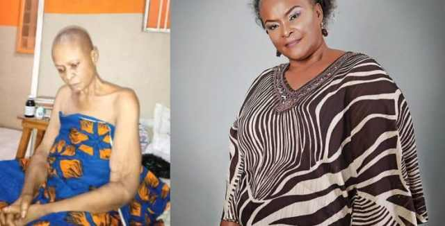 Nollywood actress Ify Onwuemene down with cancer, colleague appeals for help