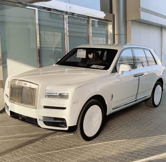 HushPuppi thanks God for his Rolls Royce