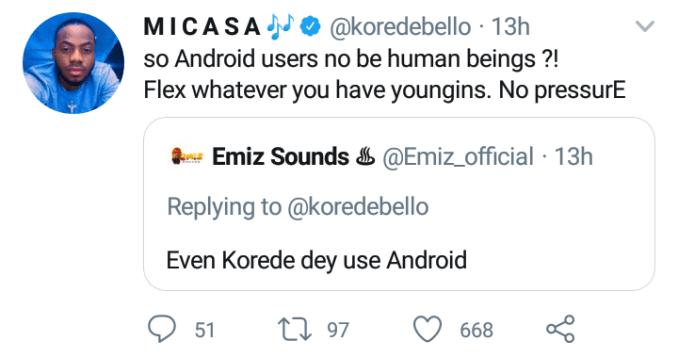 Korede Bello advises youths