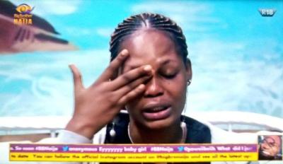 BBNaija 2020: Kaisha breaks down in tears as she says housemates are all fake -Day 3