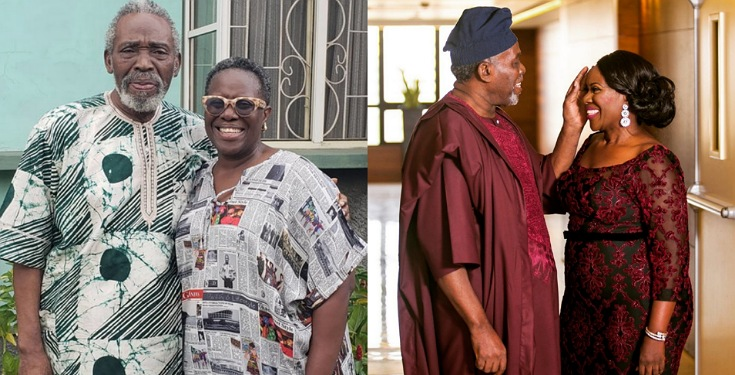 Joke Silva celebrates her husband, Olu Jacobs on his 78th birthday