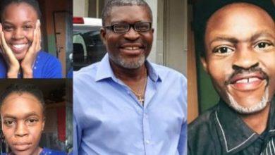 Legend Actor Kanayo O. Kanayo Rewards Make Up Artist Who Painted Her Face To Look Like Him