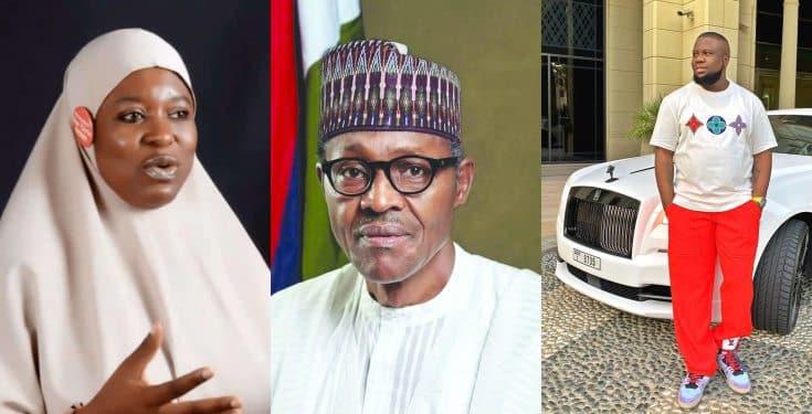 President Buhari, Hushpuppi do the same work – Aisha Yesufu alleges