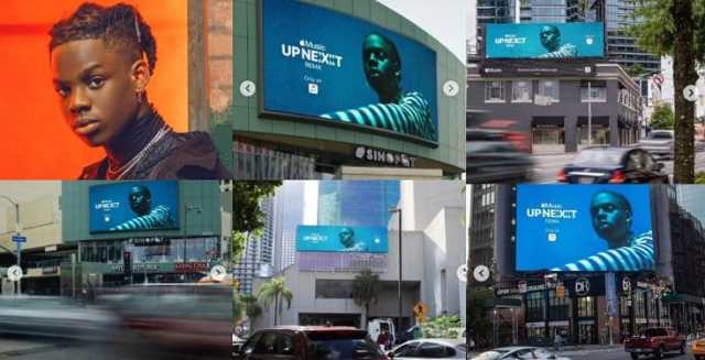 img 09072020 083606 735 x 375 pixel593983907408499874 - Rema Noticed In A number of Billboards in Miami, Atlanta, Los Angeles and New York (Movies)