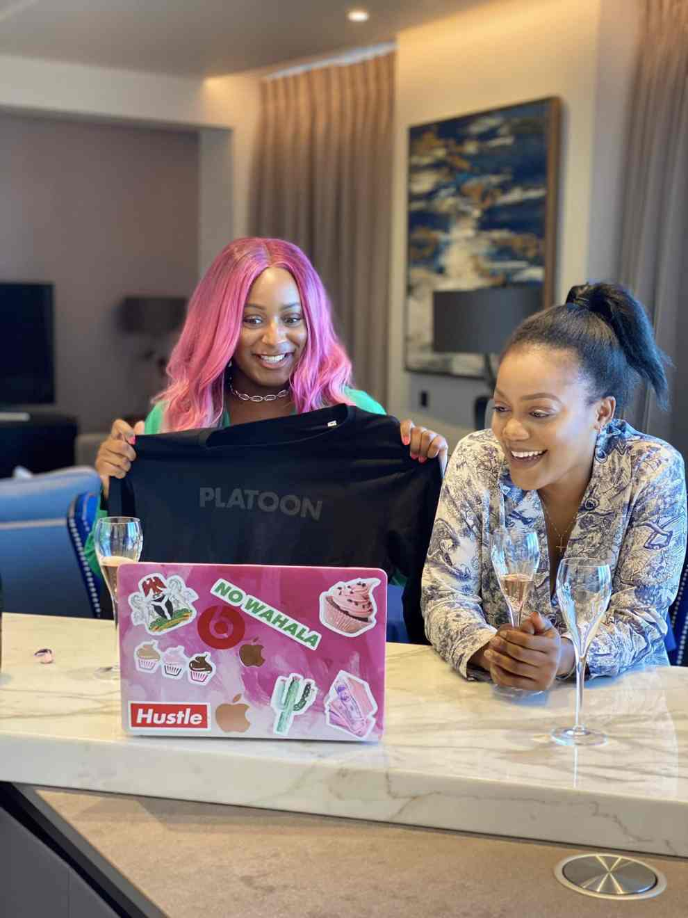 DJ Cuppy signs music deal with Platoon