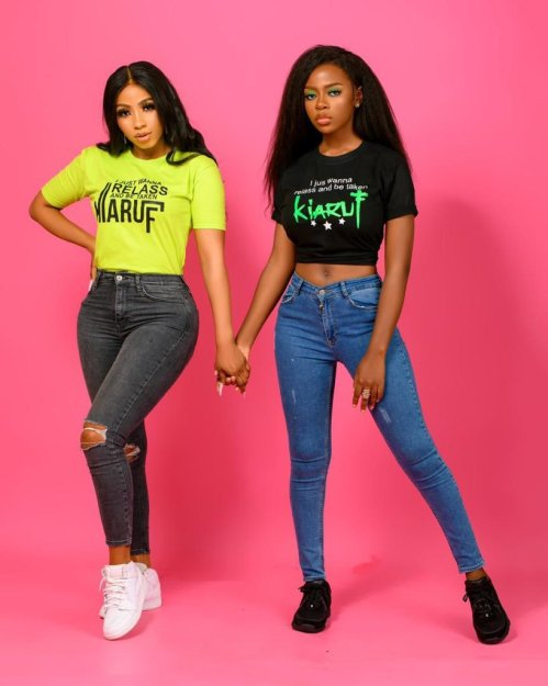 """""""Women supporting women is not a myth"""" – Mercy Eke says as she serves friendship goals with Diane Russet"""