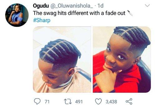Boluwatife drips in new hairstyle