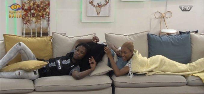 Laycon advises Vee on her relationship