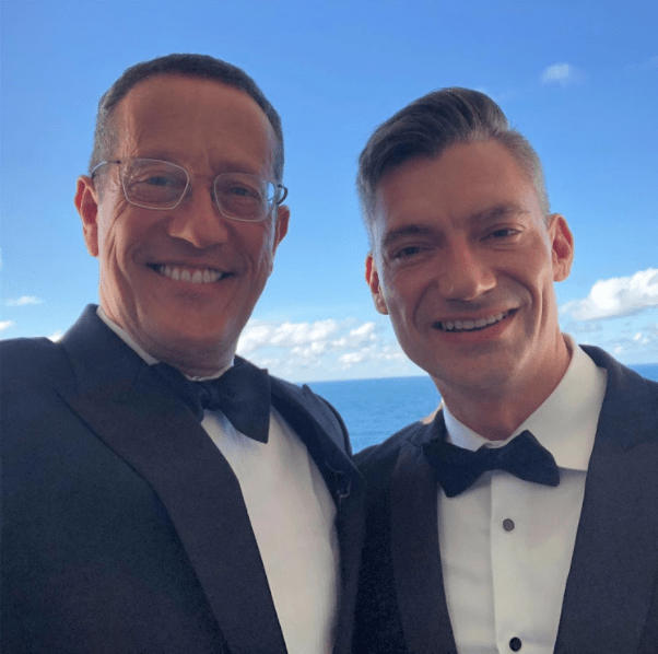 Richard Quest married