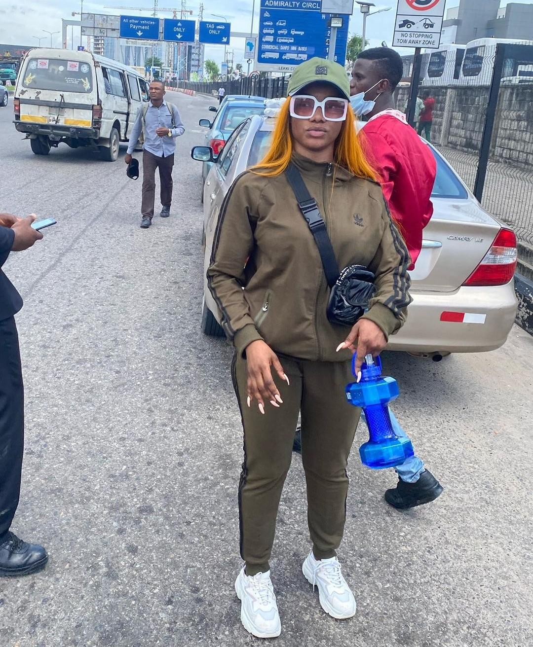 """IMG_20201008_215240_024 You are one of the problems we are trying to change in Nigeria – Tacha fires back at man who called her """"dirty, smelling girl"""""""