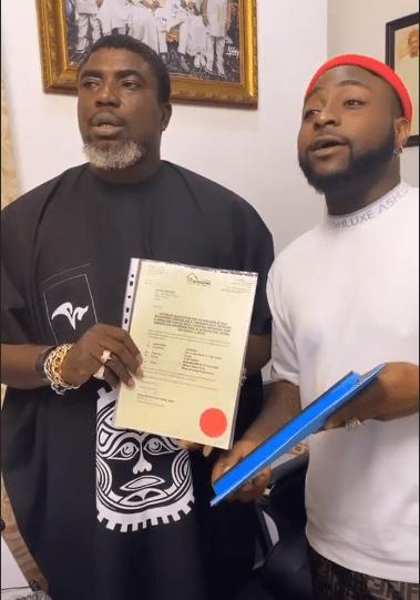 Davido gifted a N48million 1200sqm land in Abuja (Video) - ASYARFS