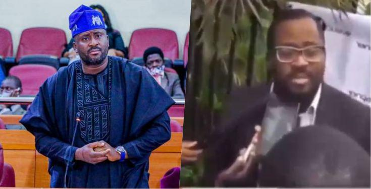 Nigerians dig up video of Desmond Elliot admitting that social media was instrumental to his election victory