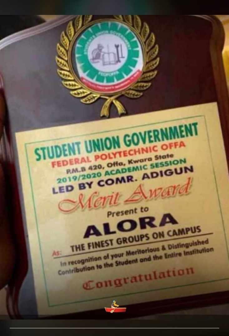 Polytechnic offa award cultists alora