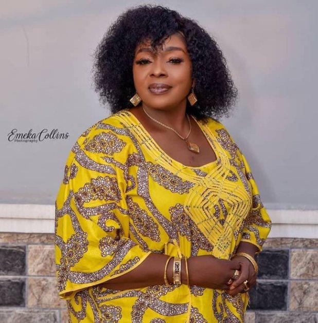 Rita Edochie Welcomes Grandson