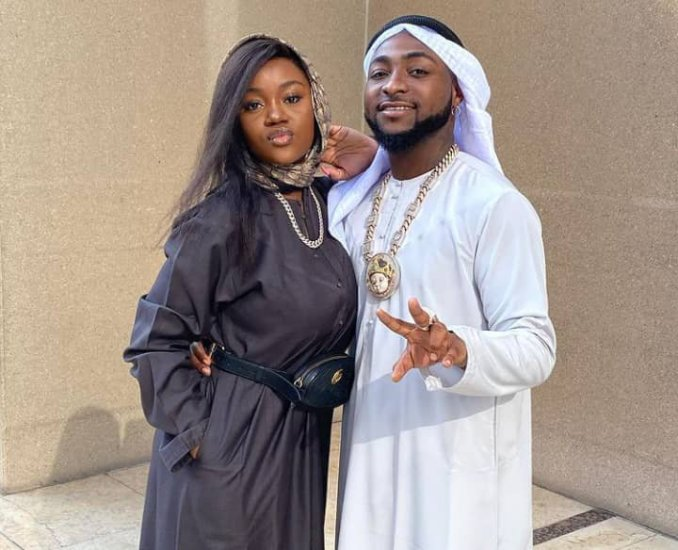 Chioma celebrates Davido on his birthday