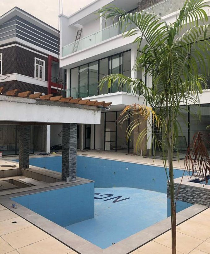 Jude Okoye new mansion in Lagos