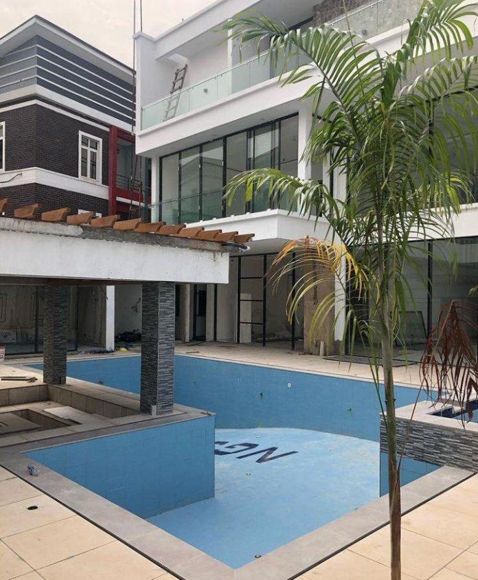 Jude Okoye new mansion in Lagos