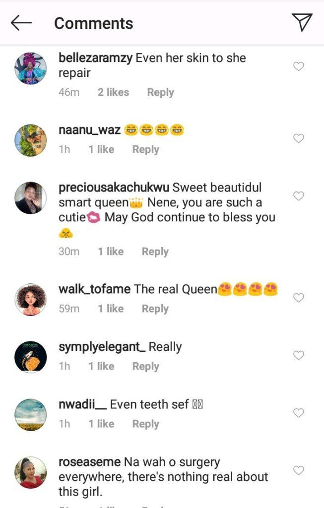 """""""Nothing is real about you"""" - Fans drag Nengi as old photo confirms she did teeth surgery"""