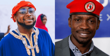 Davido reveals his support for Bobi Wine in the Ugandan election