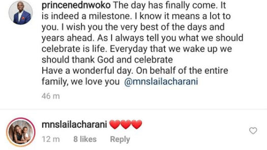 Ned Nwoko celebrates Moroccan wife, Laila on her 30th birthday
