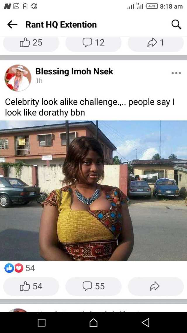 Dorathy's look alike leaves jaws dropping with uncanny resemblance