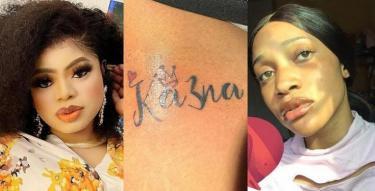 Bobrisky demands contact details of the lady that inked Ka3na's name