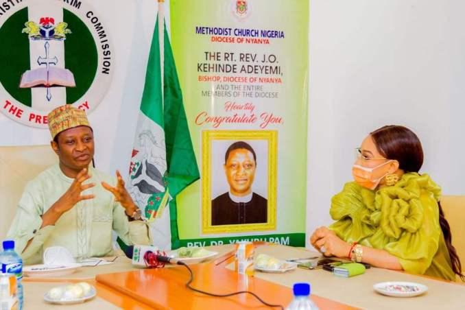Tonto Dikeh Becomes Ambassador For Nigeria Christian Pilgrim Commission, NCPC