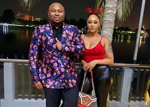 """""""From PA to Mrs, its an elevation""""- Uche Maduagwu backs Rosy Meurer's union with Churchill (Video)"""