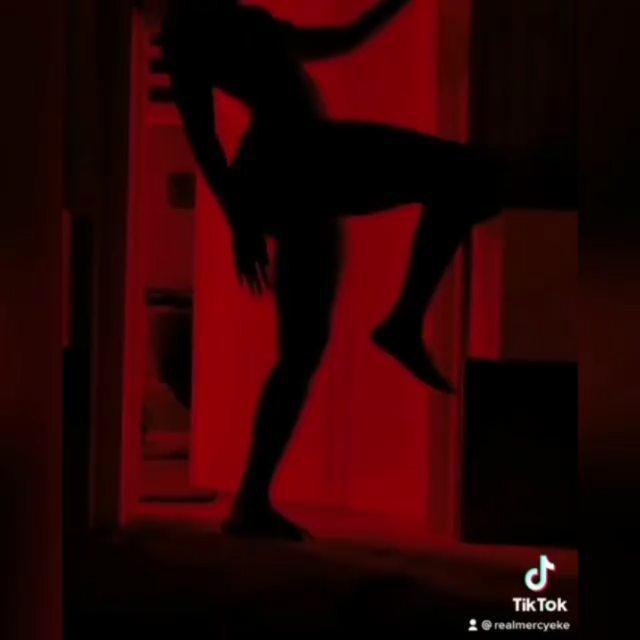 Mercy Eke silhouette challenge