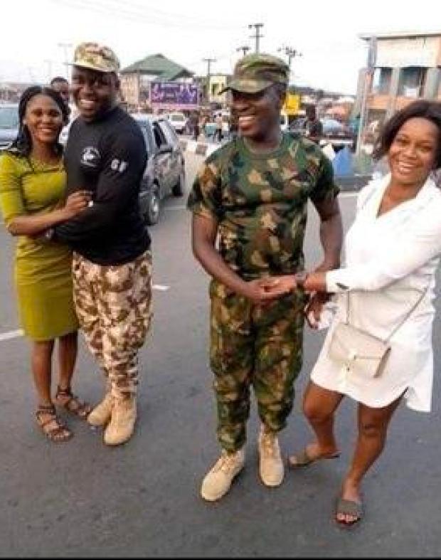 Love Nigerian soldiers