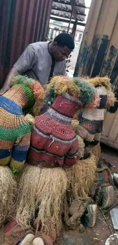 pastor prays for masquerades