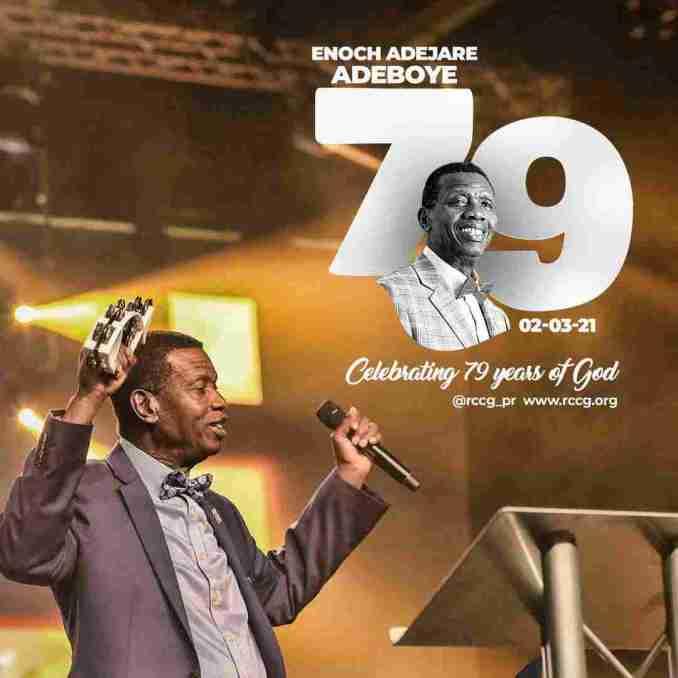 Pastor Enoch Adeboye Celebrates 79th Birthday