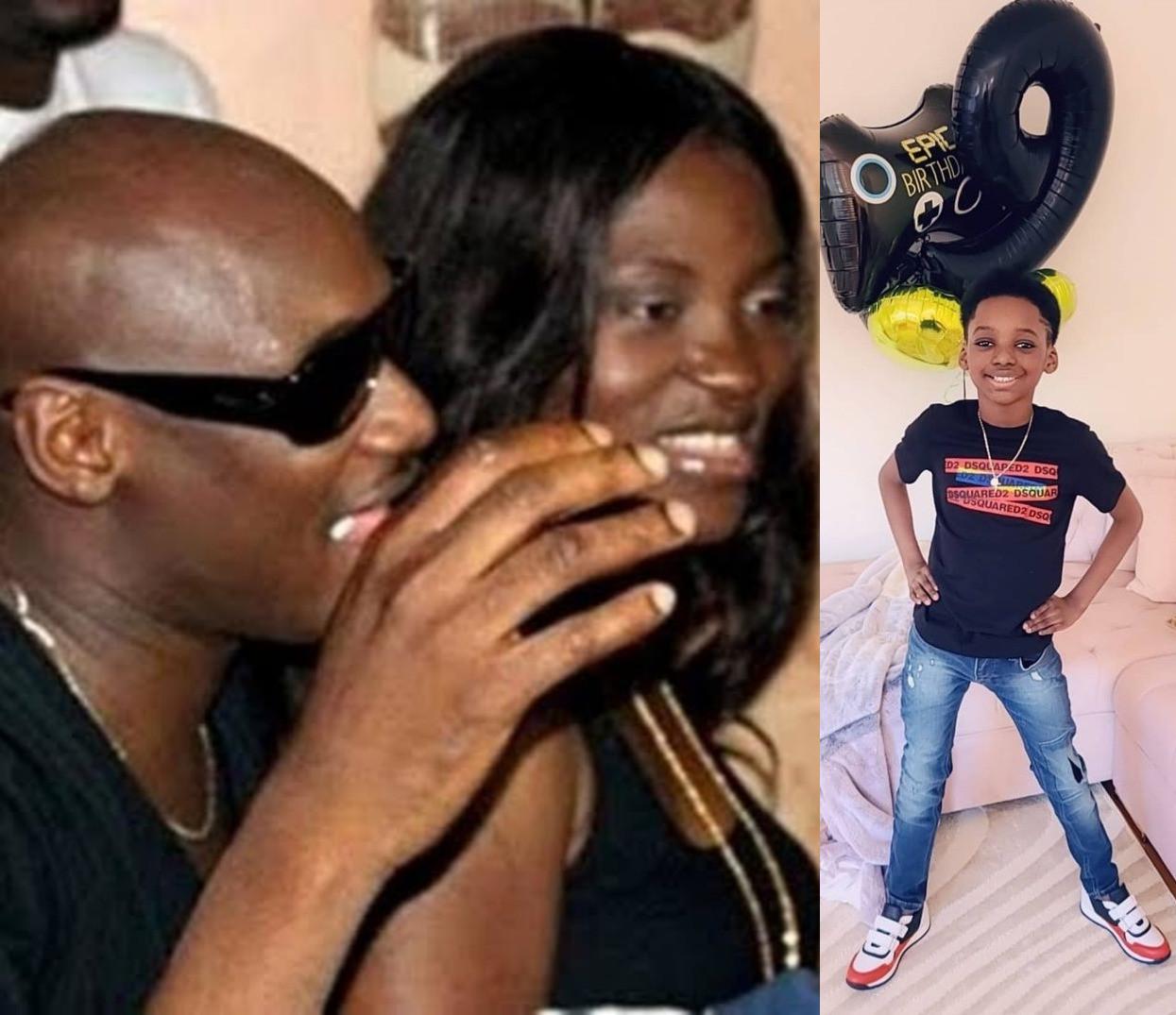 Tuface Idibia celebrate son