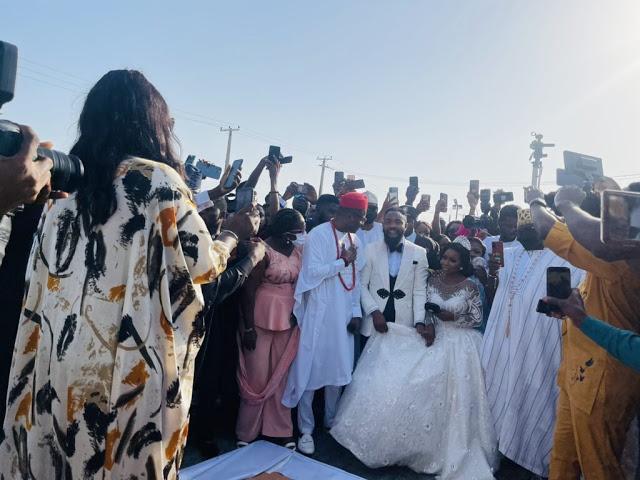 wole arole wedding