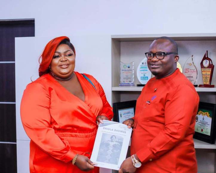 Eniola Badmus bags sweet deal with LAWMA months after getting dragged over outfit to Headies