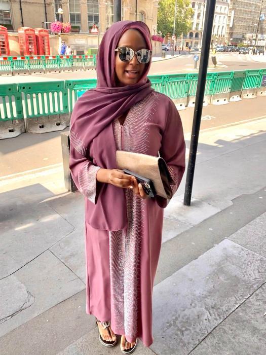 DJ Cuppy Muslim Outfit