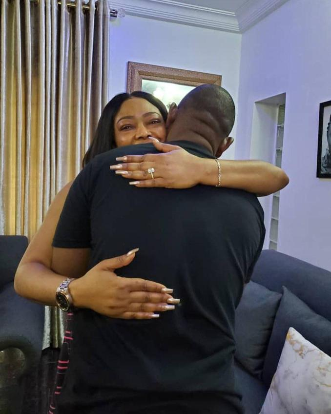 """""""I would have married you if she said NO"""" - Tonto Dikeh opens up to her newly engaged boss"""