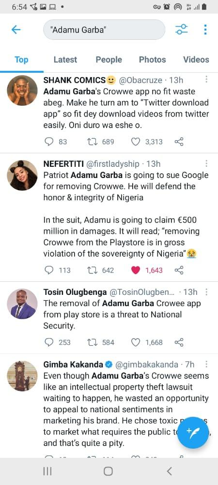 play store deleted crowwe